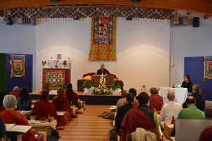Atentos a las explicaciones de Rinpoche