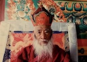 Kyabje Chatral Sangye Dorje Rinpoche